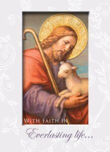 good shepherd sympathy card