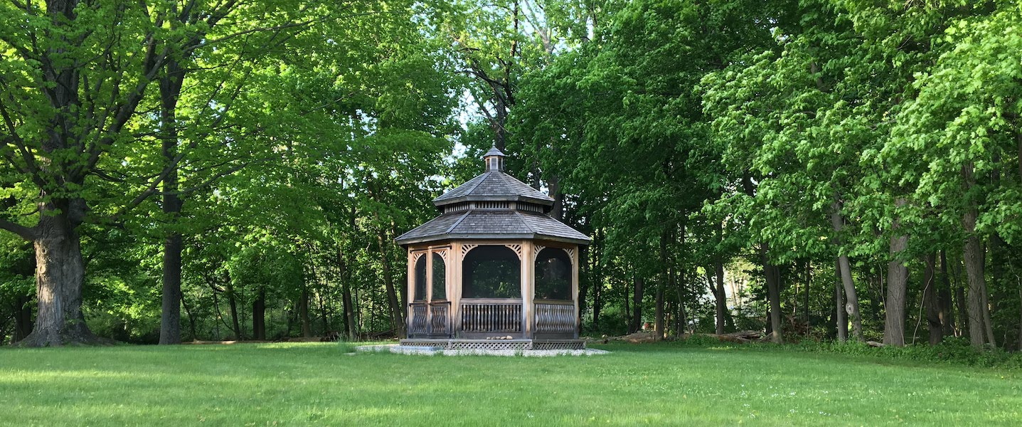 retreat center gazebo