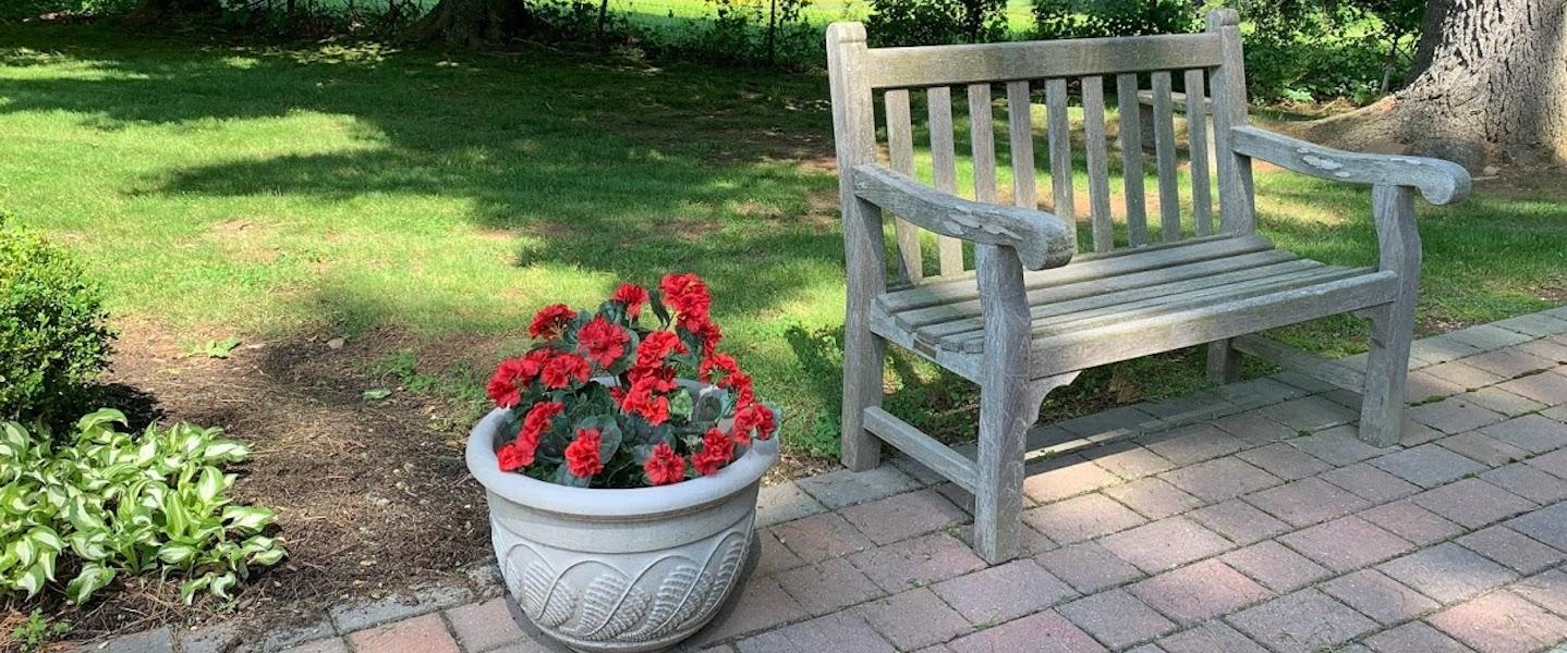 retreat center garden