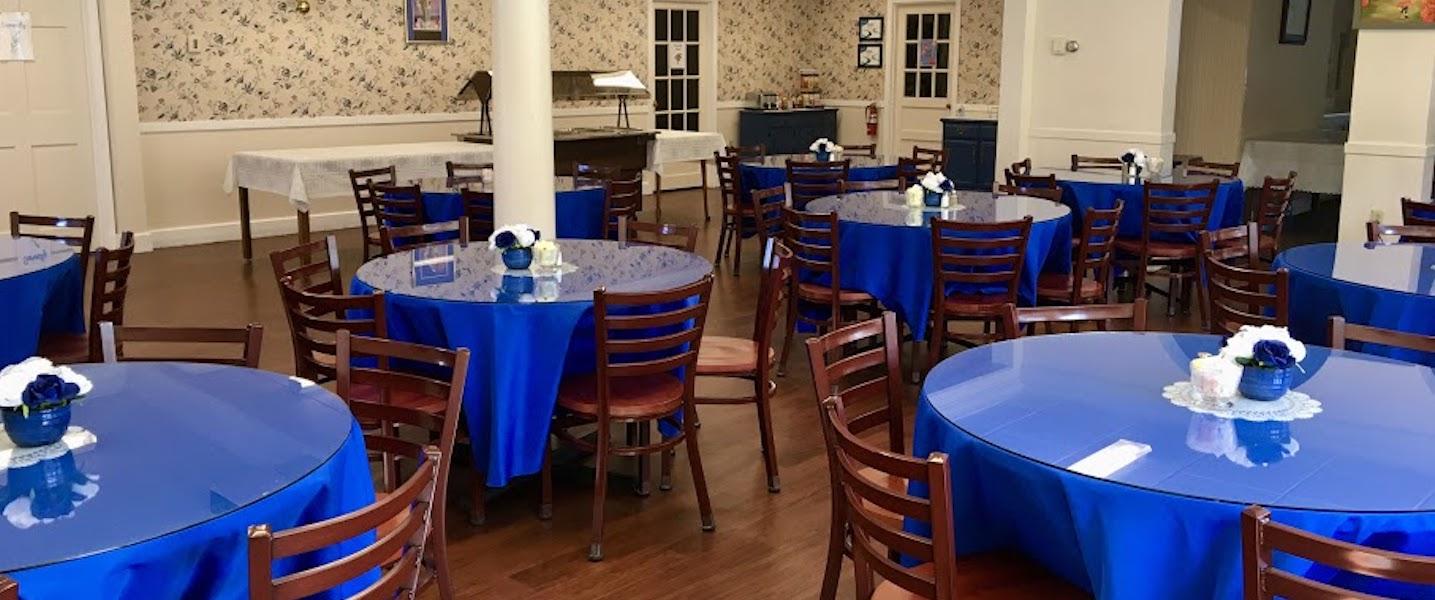 retreat center dining room