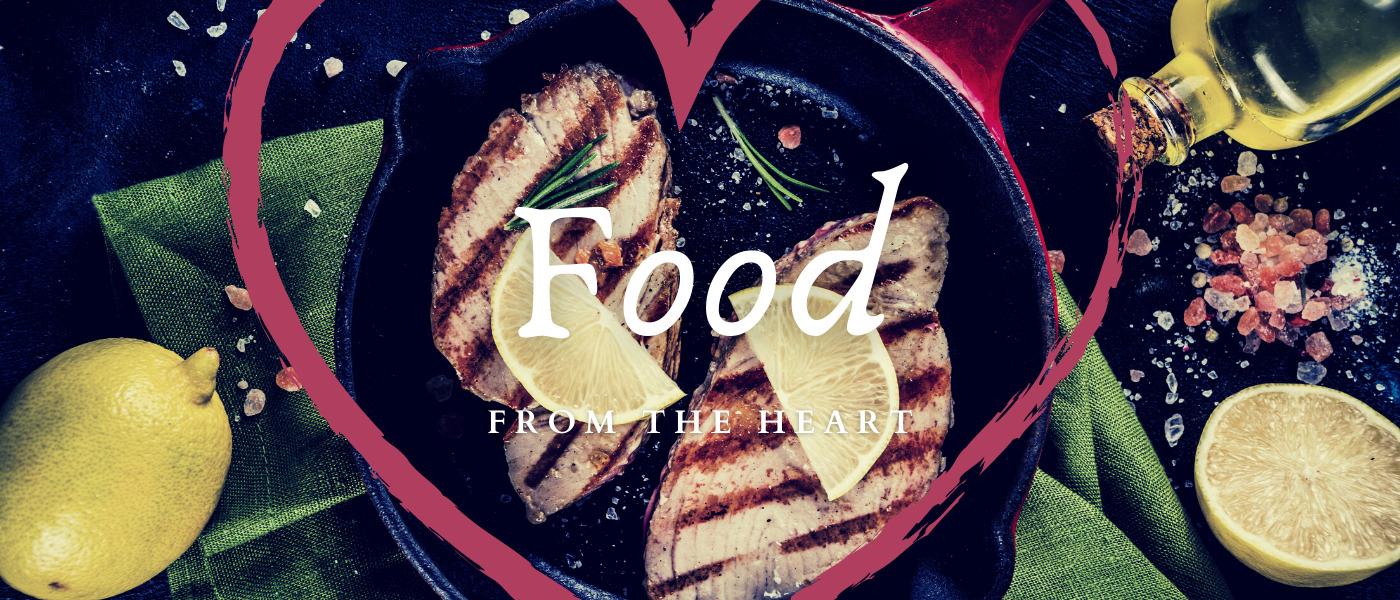 food from the heart tuna