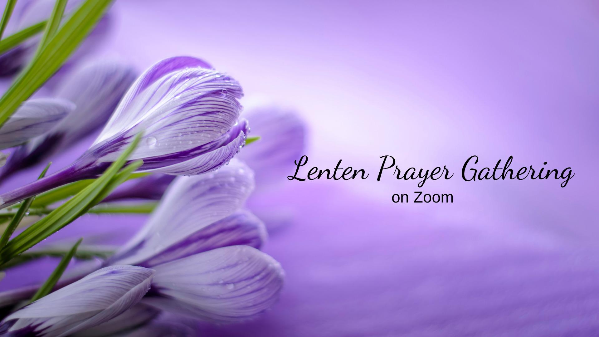 Lenten Prayer